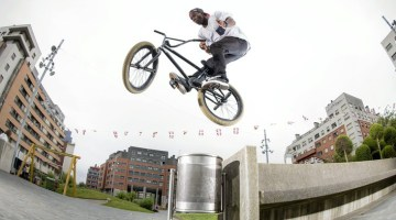 Red Bull Lined Up Courage Adams Madrid BMX video