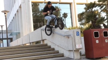 Matt Perkins BMX video Los Angeles