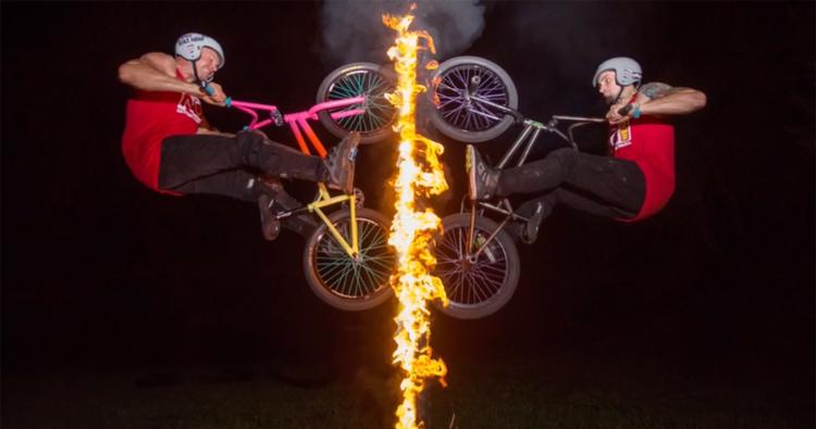 Nowear BMX – Firewall Poster Shoot