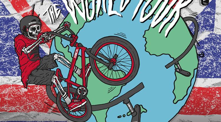 Shadow Conspiracy & Subrosa World Tour: United Kingdom Flyer