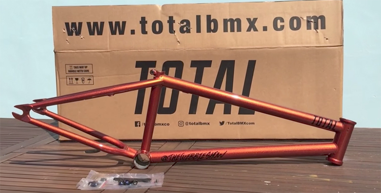 Total BMX - TWS Frame, Bars and Fork Sneak Peek