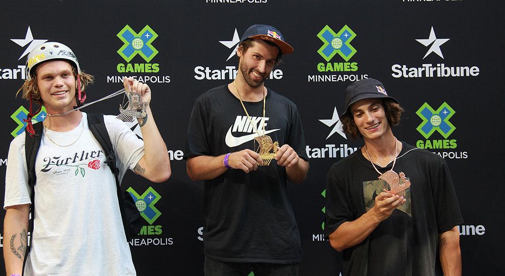 Garrett Reynolds Wins X Games 2017 Street