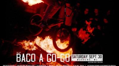 BACO-A-GO-GO Flyer