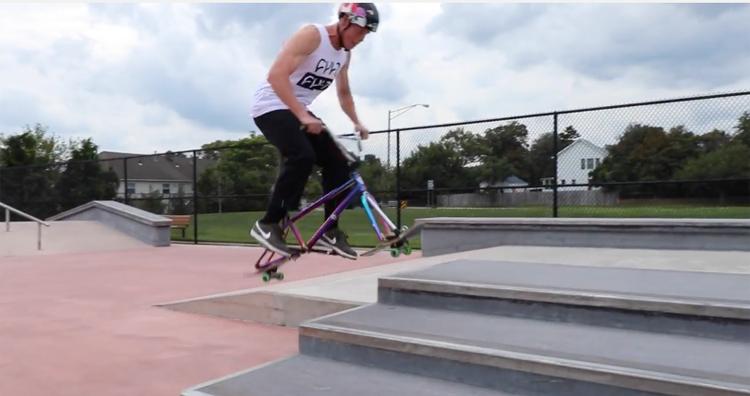 Skate Bike vs. Skatepark Security