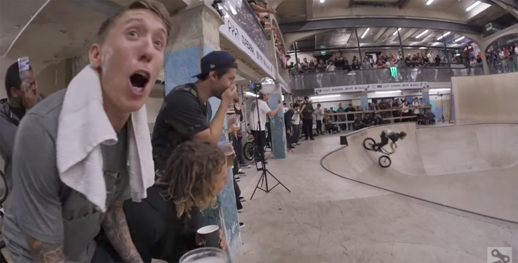 Battle of Hastings 2017 Best Trick and Qualifying BMX video
