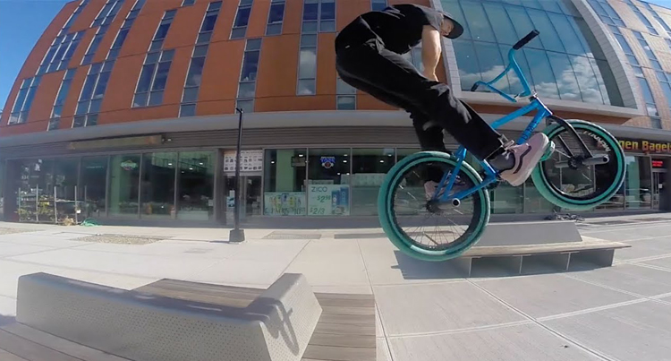 Billy Perry – Daily Cruise: Riding BMX In Brooklyn, New York