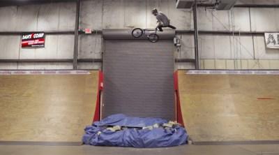 Colton Walker Destroys Kitchen Skatepark BMX video