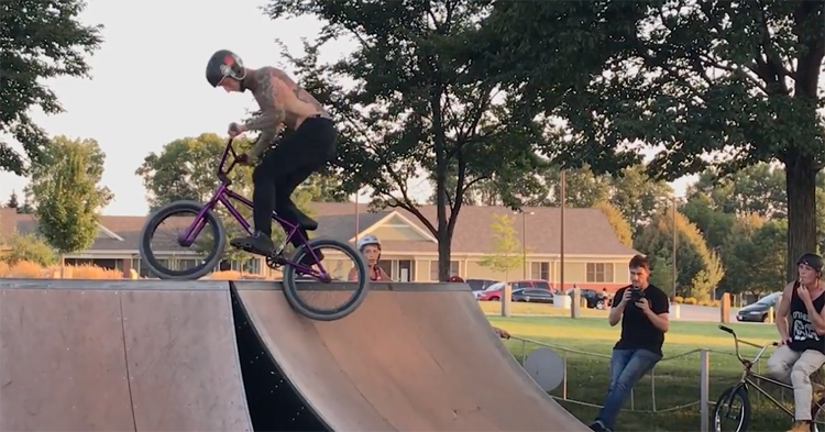 Joe Battaglia iPhone Edit 2 BMX video