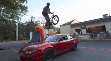 Scotty Cranmer Crazy Bicycle Obstacle Course BMX video