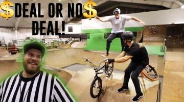 Scotty Cranmer Deal or No Deal BMX video
