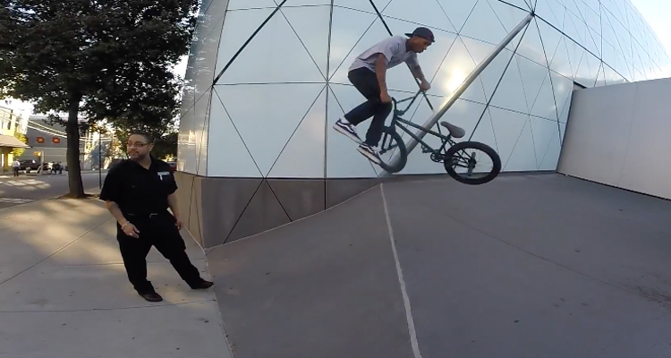 Billy Perry – BMX Security Challenge In NYC 4