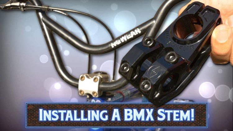 How To Remove and Install a BMX Stem