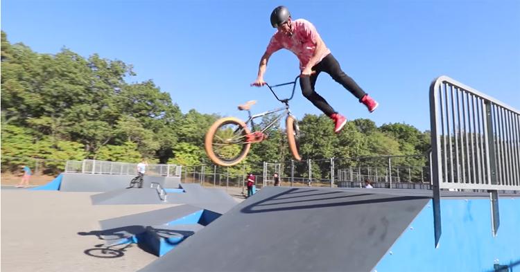 Scotty Cranmer – Insane Gap at the Skatepark