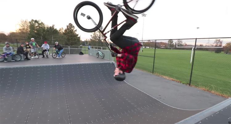 Scotty Cranmer Old Friends Cold Skatepark BMX Video