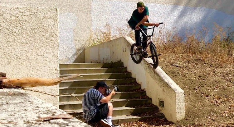Common Crew Daily Grind BMX Trent Lutzke California BMX video