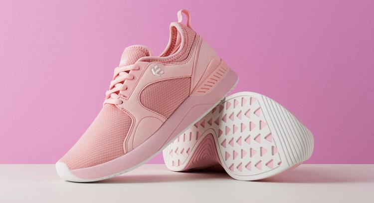 Etnies Cyprus SC Shoe Pink Womens