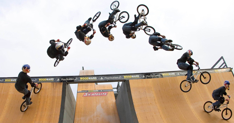 Kevin Robinson BMX X Games