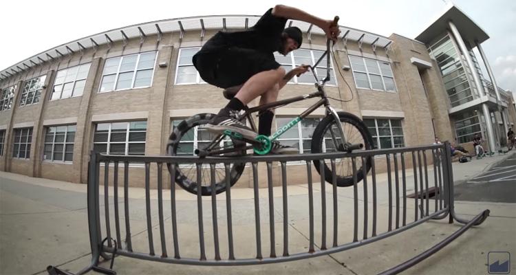 Merritt BMX – Charlie Crumlish Signature Cross Check Grips Promo