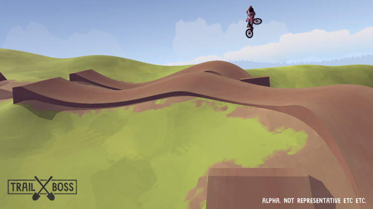 Trailboss BMX Game Pumped BMX