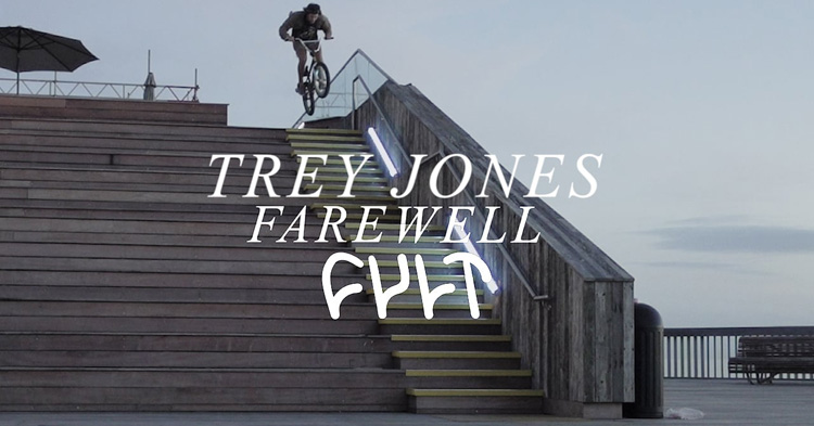 Trey Jones OFF Cult + Farewell Video