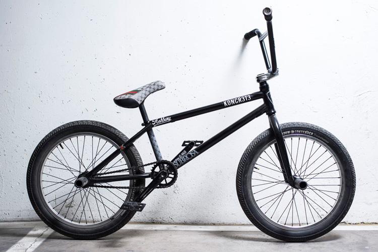 Juani Zurita Bike Check Subrosa Brand BMX