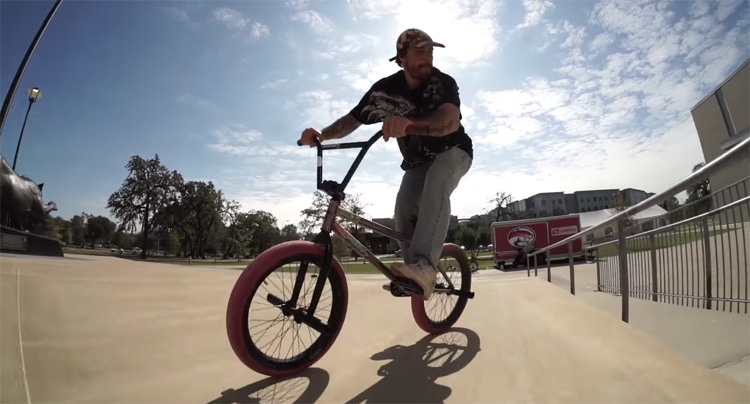 Jake Seeley and Grant Castelluzzo on Madera BMX