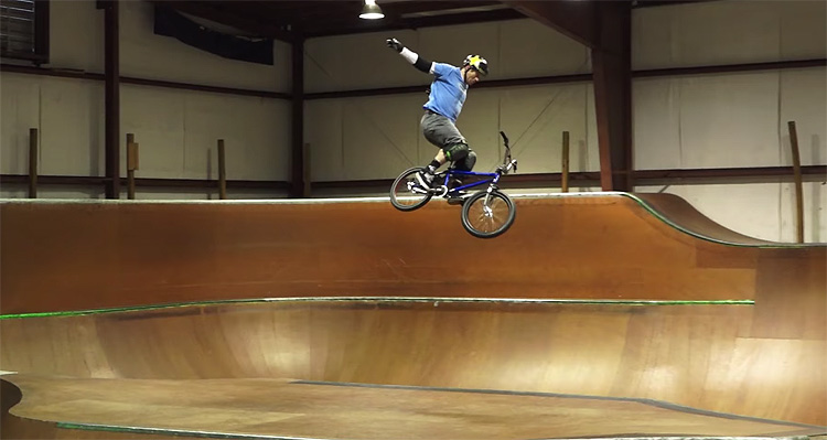 Ryan Nyquist Returns to The Unit BMX video