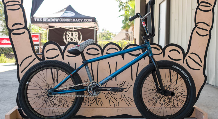 Shadow Conspiracy Matt Ray BMX bike check