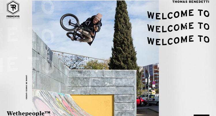 Thomas Benedetti On Wethepeople + Bike Check