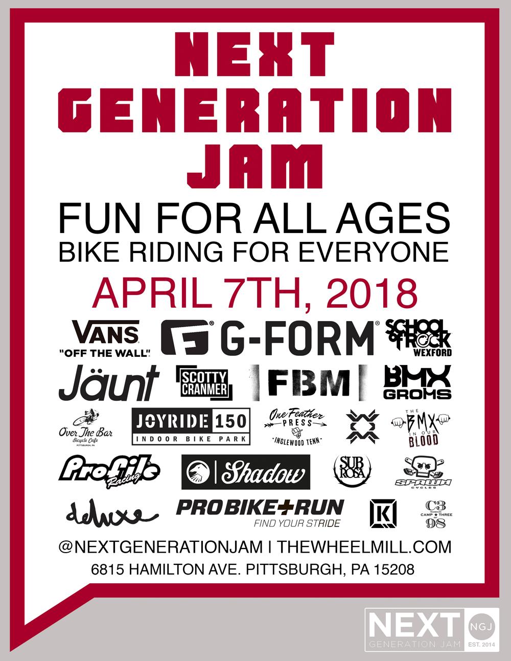 Next Generation Jam 2018 BMX