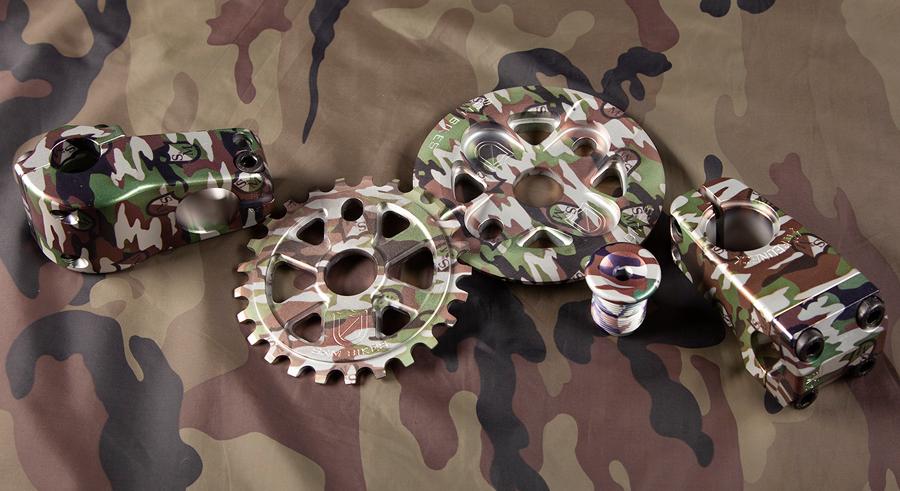 S&M Bikes Shield Camouflage BMX Parts