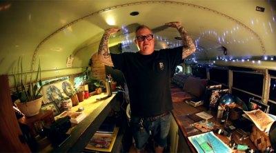 Steve Crandall Home On Wheels Bus Tour BMX
