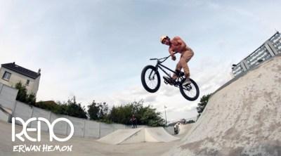 Erwan Hemon BMX video