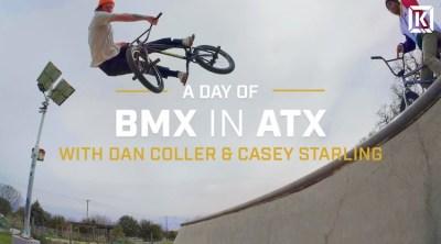 Kink BMX Day of BMX In ATX