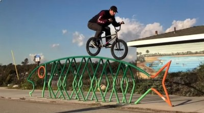 Hobie Doan Crushing Long Beach BMX video
