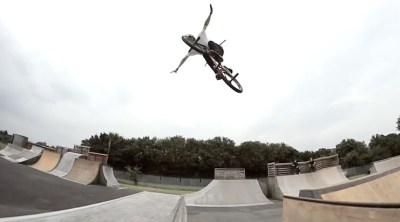 Radio Bikes Mike Hullock Tekkers BMX video