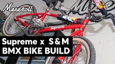 S&M Supreme BMX bike Meseroll