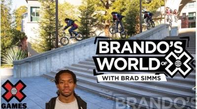 X Games Podcast Brad Simms