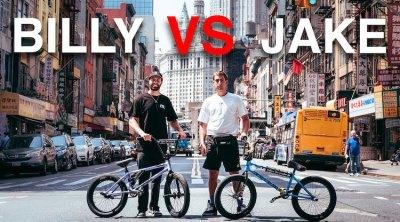 Billy Perry VS Jake Layton Game of BIKE NYC