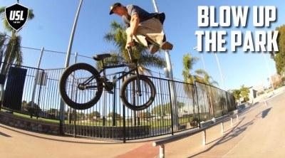 Colin Varanyak USL BMX Blow Up The Park BMX video