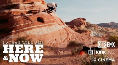 Nathan Williams Here and Now BMX video