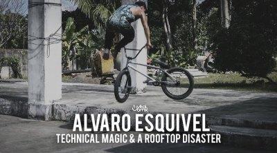 Alvaro Esquivel Technical Magic BMX