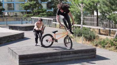 Mickael Carmona BMX video