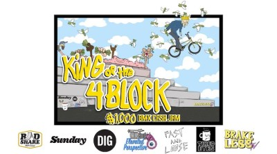 King of the 4 Block BMX viddeo