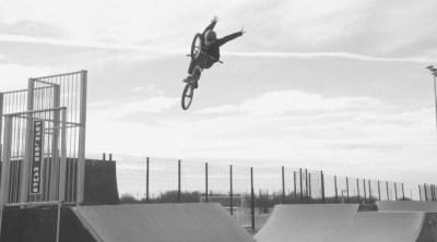 Matt Harris Drone Hub Promo BMX video