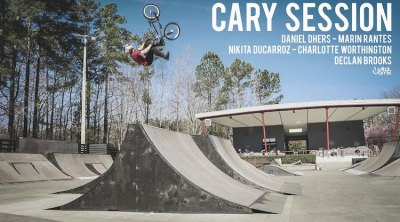 Sk8 Cary Session BMX video