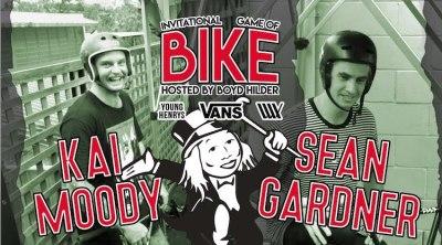 Lux BMX Game of BIKE Kai Moody VS Sean Gardner