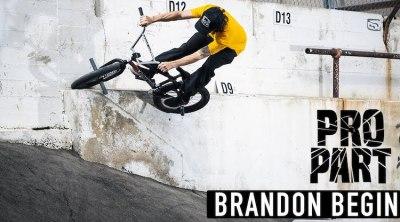 Brandon Begin Pro Part BMX video