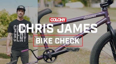 Colony BMX Chris James Bike Check