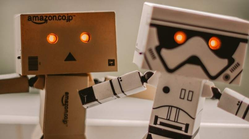robot text